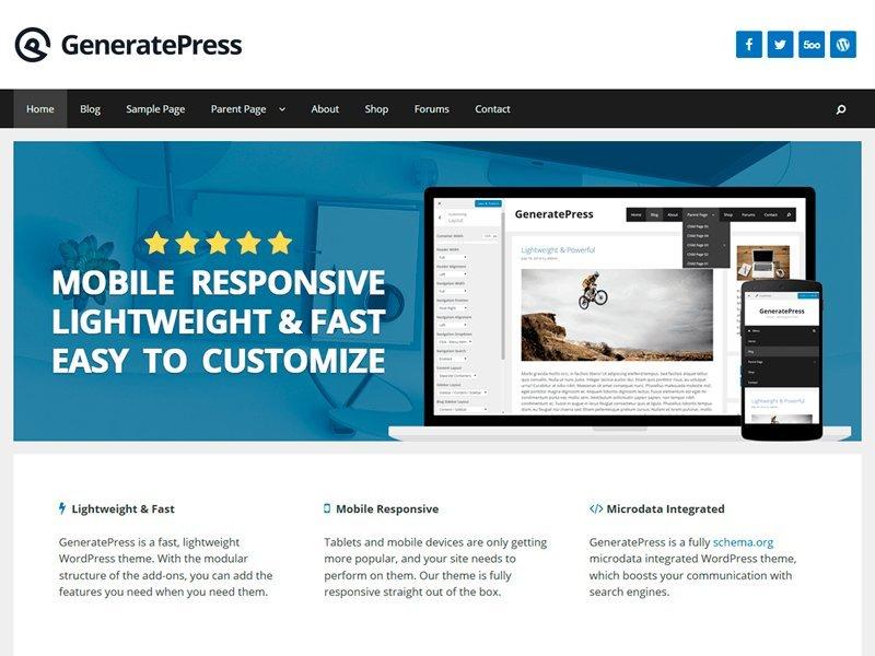 Las 9 mejores plantillas gratis WordPress Responsive 100%