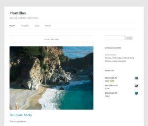 plantilla gratis wordpress responsive