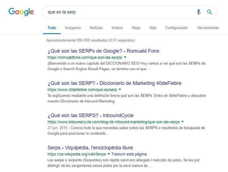 qué es la SERP 13 consejos SEO para WordPress